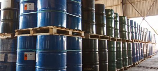 drilling fluids storage